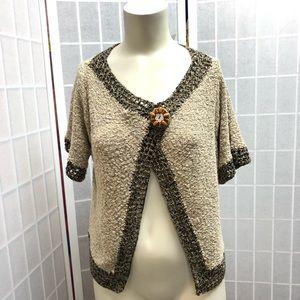 Curio sweater cream brown new Size M Fall